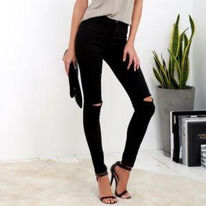 Lulu's High Waisted Skinny Jeans